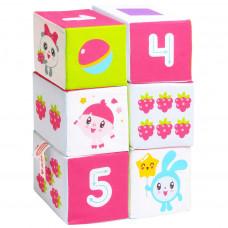 Кубики Мякиши Малышарики Учим формы, цвет и счёт