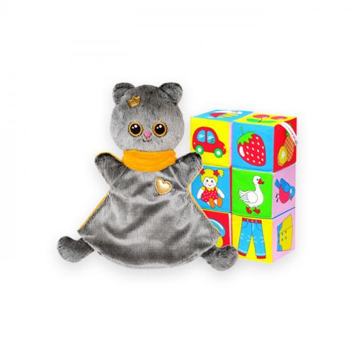 Комплект из грелки малышарики + любые развивающие кубики - скидка 10%