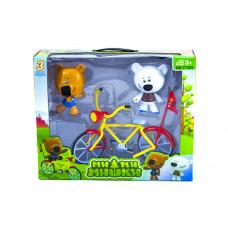 Мимимишки и велосипед