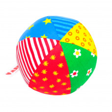 Мячик с погремушкой Радуга