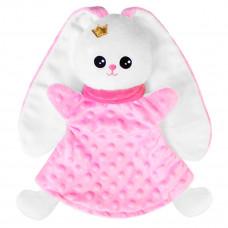 Игрушка «Мякиши» Кукла на руку Зайка (розовый)