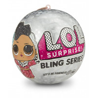 Кукла-сюрприз MGA Entertainment в шаре LOL Surprise Bling Series, 8 см