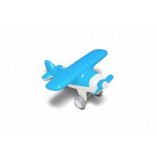Самолет голубой