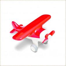 Самолет красный