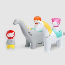 Набор серии MYLAND динозавр или лошадка + человечек