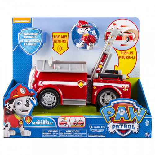 Игрушка машина спасателей со звуком и светом Маршал (Paw Patrol)
