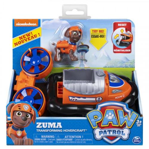 Машина-трансформер со звуком и светом оранжевая Зума (Paw Patrol)